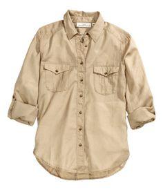 H&M Camisa de algodón S/. 89.95