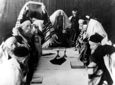 Jews studying Torah around a table in the ghetto, Cracow, Poland  Photographs  Film and Photo Archive, Yad Vashem  All rights reserved