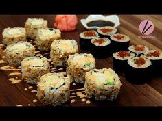 Spicy Tuna & California Rolls Recipe & Video - Seonkyoung Longest