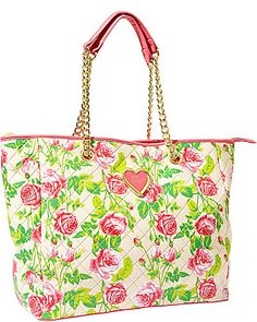 INTO THE DEEP TOTE FLORAL