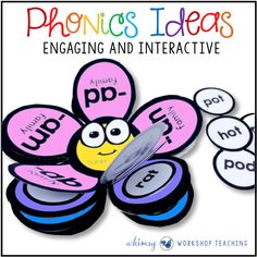 Making Phonics Fun and Interactive - Whimsy Workshop Teaching