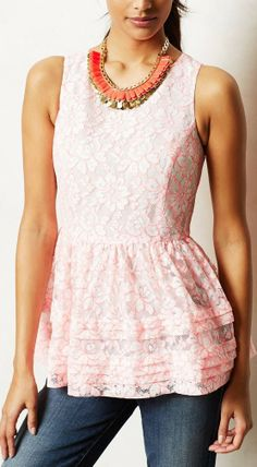 Could be dress turned into a top. cKismet Peplum Top