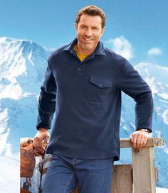Poloshirt aus Fleece: Auch für die kalte Jahreszeit gibt es passende Poloshirts: http://www.atlasformen.de/products/neue-kollektionen/winter-valley/poloshirt-aus-fleece/47185.aspx