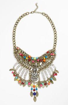 Tildon Crystal Statement Necklace