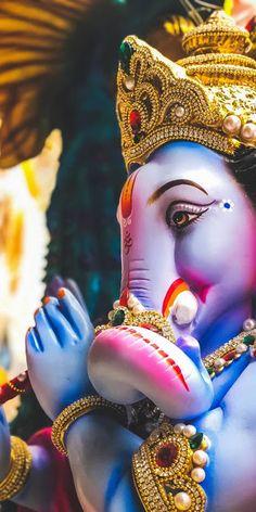 New Cute Lord Ganesha Smiley Wallpaper. Most Famous And Popular Lord Ganesha or bappa wallpaper. Wallpaper by WaoFam. Ganesh Wallpaper, Lord Shiva Hd Wallpaper, Lord Krishna Wallpapers, Sai Baba Hd Wallpaper, Status Wallpaper, Colorful Wallpaper, Mobile Wallpaper, Jai Ganesh, Ganesh Lord
