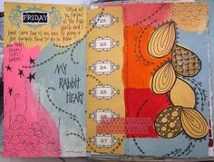 """""""When I first started journalling I often ended up with pages that I hated because I had this idea in my head that they had to be artful instead of real. But, let's face it, real is ugly sometimes. I had to learn the hard way that you can't keep that mindset and create authentic journals. You have to let go of the need for a pretty picture and embrace the True because the True is Good. Besides that, you'll never make good art anyway, that isn't also True. Ironically, once I gave myself…"""