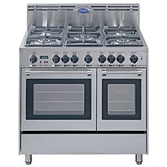 DeLonghi 36-inch stove includes double oven or similar - with a grill -  a 6 burner stove is what we are looking for - doesn't have to be this brand.