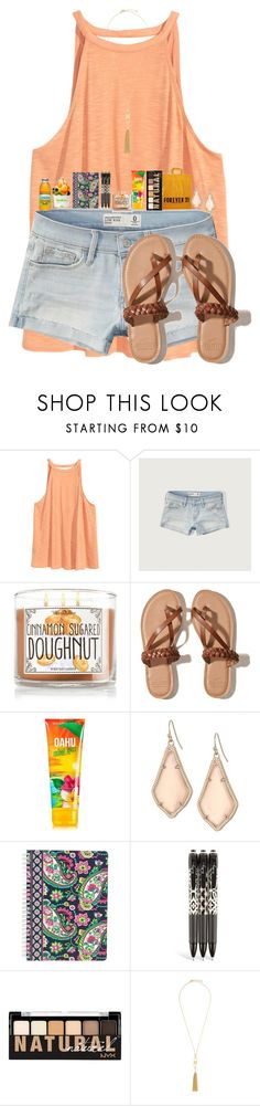 """2 more followers away from 1.8k!"" by flowers8989 ❤ liked on Polyvore featuring H&M, Abercrombie & Fitch, Hollister Co., Forever 21, éS, Kendra Scott, Vera Bradley, NYX and BCBGMAXAZRIA"