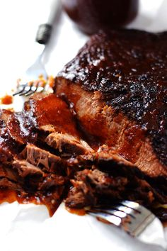 Slow Cooker Beef Pot Roast with Gravy Easy Crockpot Recipes Melt in Your Mouth Beef Recipes The Best Pot Roast Ever Simple Slow Cooker Meals My Farmhouse Table Beef Brisket Slow Cooker, Beef Brisket Recipes, Beef Pot Roast, Smoked Beef Brisket, Brisket Meat, Pork Recipes, Asian Recipes, Yummy Recipes, Meals