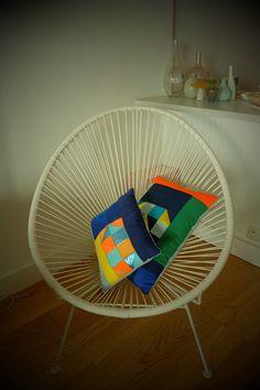 Cushion, Patch#2instagram chaumiere.oiseau