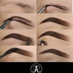 hair makeup Make Up; Make Up Looks; Make Up Augen; Make Up Prom;Make Up Face; Eyebrow Makeup Tips, Skin Makeup, Eyeshadow Makeup, Makeup Eyebrows, Shape Eyebrows, Eye Brows, Eyebrow Shapes, Eyebrow Pencil, Lip Pencil