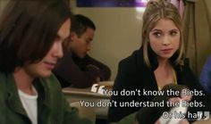 funniest hanna quotes from pretty little liars | Pretty Little Liars - Hanna Marin | Ashley Benson #14: Because This ...