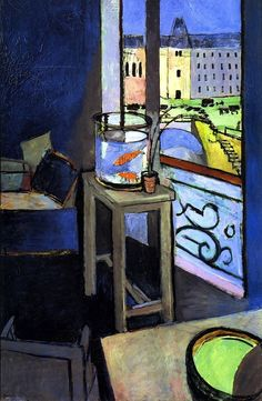 Henri Matisse - Interior with Goldfish 1914