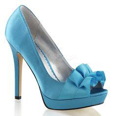 Ellie Shoes E518-IRIDESC-8 8 Mujeres Peacock Plataforma zapatos de tac-n alto - Iridescence WVEFLPoc