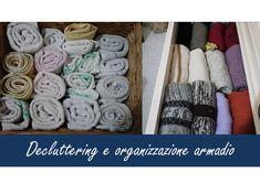 Decluttering e organizzazione armadio
