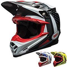 d2c2266a Amazon.com: Bell Moto-9 Unisex-Adult Off Road Helmet (Vice Black/White,  Large) (D.O.T.-Certified): Automotive