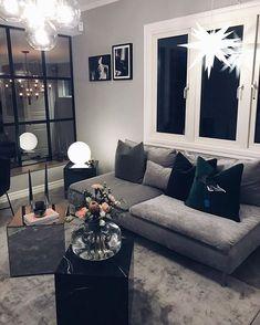 Cozy Farmhouse Living Room Decor Ideas That Make You Feel In Village Living Room Modern, Living Room Interior, Home Living Room, Home Interior Design, Living Room Designs, Living Room Decor, Living Room Inspiration, Home Decor Inspiration, Decor Ideas