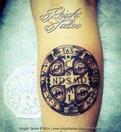 Medalha de São Bento ~ Knight Tattoo