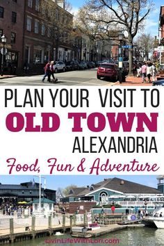 Plan Your Visit To Old Town Alexandria Virginia where you will LOVE the Restaurants, Shopping and Fun of this beautiful quaint town! Here are my 5 BEST Reasons you will Fall in LOVE With Old Town Alexandria Virginia. Alexandria Virginia, Old Town Alexandria, Alexandria Restaurant, Virginia Fall, Arlington Virginia, Washington Dc Travel, Famous Places, United States Travel, Amazing Adventures