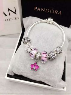 50% OFF!!! $199 Pandora Charm Bracelet. Hot Sale!!! SKU: CB01146 - PANDORA Bracelet Ideas