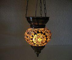 Orange yellow mosaic glass hanging lamp lampe lampe mosaique Night Shade moroccan lantern turkish light chandelier lampe turque lamp tealight lampada turca lampada turco candle holder Mosaiklampe Türkische lampen 76 handmade_antiques http://www.amazon.com/dp/B01E98N140/ref=cm_sw_r_pi_dp_nlPexb05JTJMT