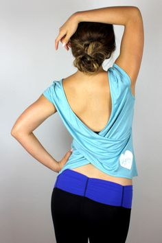 Oh So Low Back Top // Blogilates