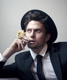 Jackson Rathbone could so see him as Ducky in a remake of Pretty in Pink... (It's the hat)