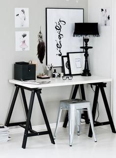 Mesas com cavalete