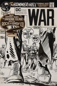 Original Comic Art:Covers, Joe Kubert Star Spangled War Stories #157 Unknown Soldierand Sgt. Rock Cover Original Art (DC, 1971).... Image #1