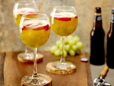 Surprise guests this evening with a refreshing Beer Sangria. #GrillingCentral