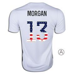 1992e5a33 2015 16 Alex Morgan Home Men s Authentic Jersey  13 USA Independence Day Alex  Morgan