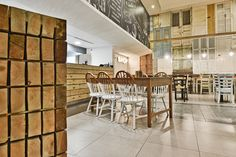 Nicosia-based M.B Interior Architects has designed The Shop Souflaki Etc, a modern tavern that serves Greek and Cypriot cuisine. Urban Concept, Shops, Interior Design Studio, Nicosia Cyprus, Interior Architects, Modern, Greek, Shopping, Furniture