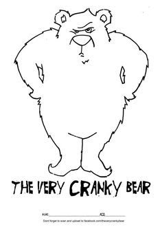 cranky bear activities - Google Search