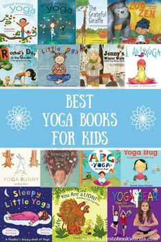 Introduce kids to yoga with 15 of the best yoga books for kids! #kidsbooks #readaloud #yogabooks #yoga