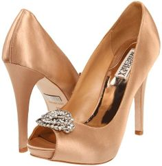 Badgley Mischka Goodie High Heels On Shopstyle Gold Wedding