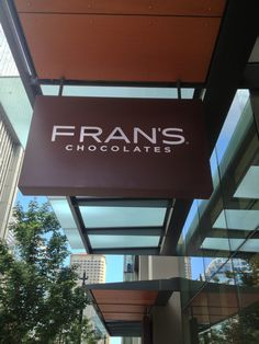 Fran's Chocolates in Seattle, WA 1. Caramels w/ Sea Salt 2. Ta den Wa Chocolates 3. Polermo Bar 4. Coconut Gold Bar 5. Double Chocolate Fig 6. Orange Confi