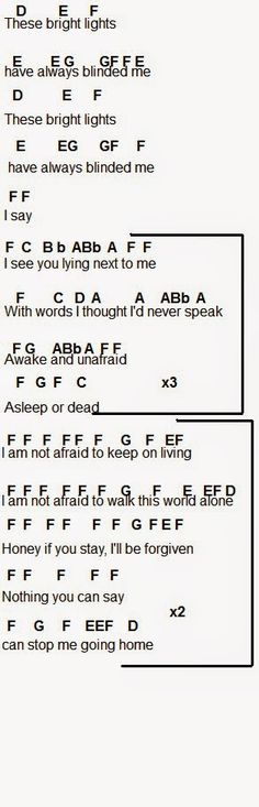 Flute Sheet Music: Famous Last Words