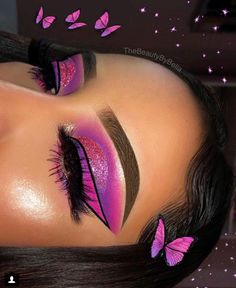 Are you looking for ideas for your Halloween make-up? Browse around this site for unique Halloween makeup looks. Glam Makeup, Makeup On Fleek, Flawless Makeup, Cute Makeup, Gorgeous Makeup, Pretty Makeup, Skin Makeup, Makeup Inspo, Makeup Art
