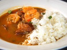For a taste of New Orleans, stew up a pot of Paula Deen's Gumbo from Food Network, loaded with chicken, sausage, shrimp and okra. Food Network Recipes, Cooking Recipes, Cajun Cooking, Cajun Food, Cooking Videos, Crockpot Recipes, Yummy Recipes, Recipies, Dove Recipes