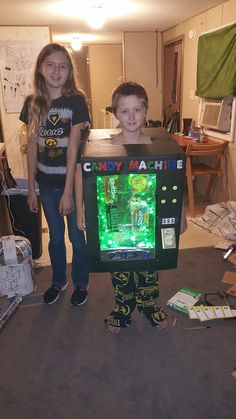 Candy machine Halloween costume
