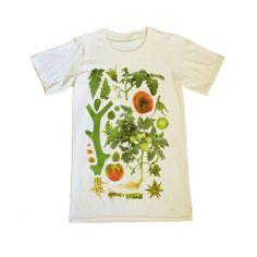 Unisex Organic Cotton Tomato Botanical Shirt