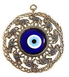 Ball Ornaments, Hanging Ornaments, Unique Wall Decor, Wall Art Decor, Birth Certificate Form, Yoga Studio Decor, Greek Evil Eye, Tarnished Silver, Thing 1