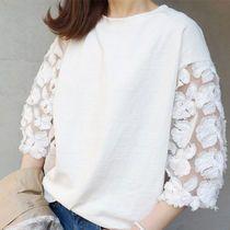 大人雰囲気のバルーンスリーブ ブラウス ゆるシャツ★ S729  ボートネック&ふんわりとしたパフスリーブが可愛いブラウス。 ユニークな袖デザインが魅力的♪♪ リネン混紡生地で、通気性良く快適。 ボリューム袖のワイドスリーブスタイル。 上質な生地感で、上品な女性らしい雰囲気の一枚。   ♪♪【出品商品一覧】をクリックすると、 もっと多くの商品をご覧頂けます♪♪   ★お取引についてを必ずご覧ください。 ★発送までに3〜7日ほどお時間をいただきます。(土曜日曜を除く) ★発送について 〔A〕小型包装物(発送から7〜15日)追跡なし 〔B〕EMS(発送から3〜5日)追跡あり  ★ノーブランドの海外製品は、日本製に比べ縫製などが少々劣る場合がございます。 また、元々タグや洗濯表示がないものがございますので、予めご了承ください。  ★お客様理由によるご返品可能商品。  ★ご質問等がございましたら、お気軽にご連絡ください。
