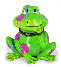 cute frog box