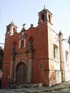 Temple of Panzacola - Coyoacan, MexicoCity-Guide.com