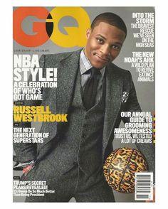 Gentleman's Quarterly GQ Magazine | November 2016 | NBA Style Russell Westbrook
