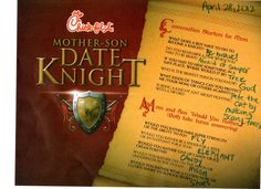 Mother-Son Date Knight | The Fons Four