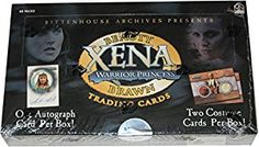 (Affiliate) Price:$99.99 + $6.99 shipping Xena Warrior Princess Beauty/Brawn Trading Cards Display Box of 40 Packs
