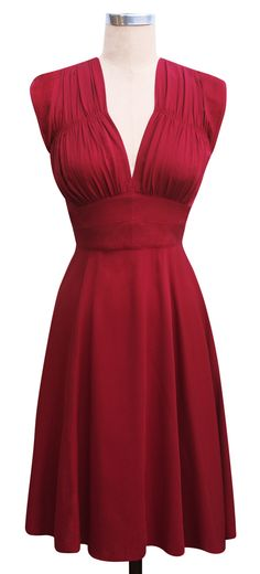 1940s Dress   Vintage Inspired Dress   Trashy Diva