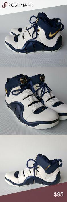 070339e8f6f Vintage Nike Zoom LeBron IV 2006 Size 9.5 Men s Vintage Nike Zoom LeBron IV  (4